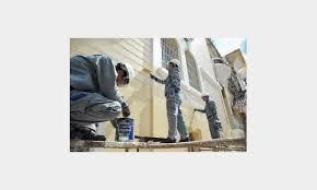 Cách sơn nhà không gây nứt tường